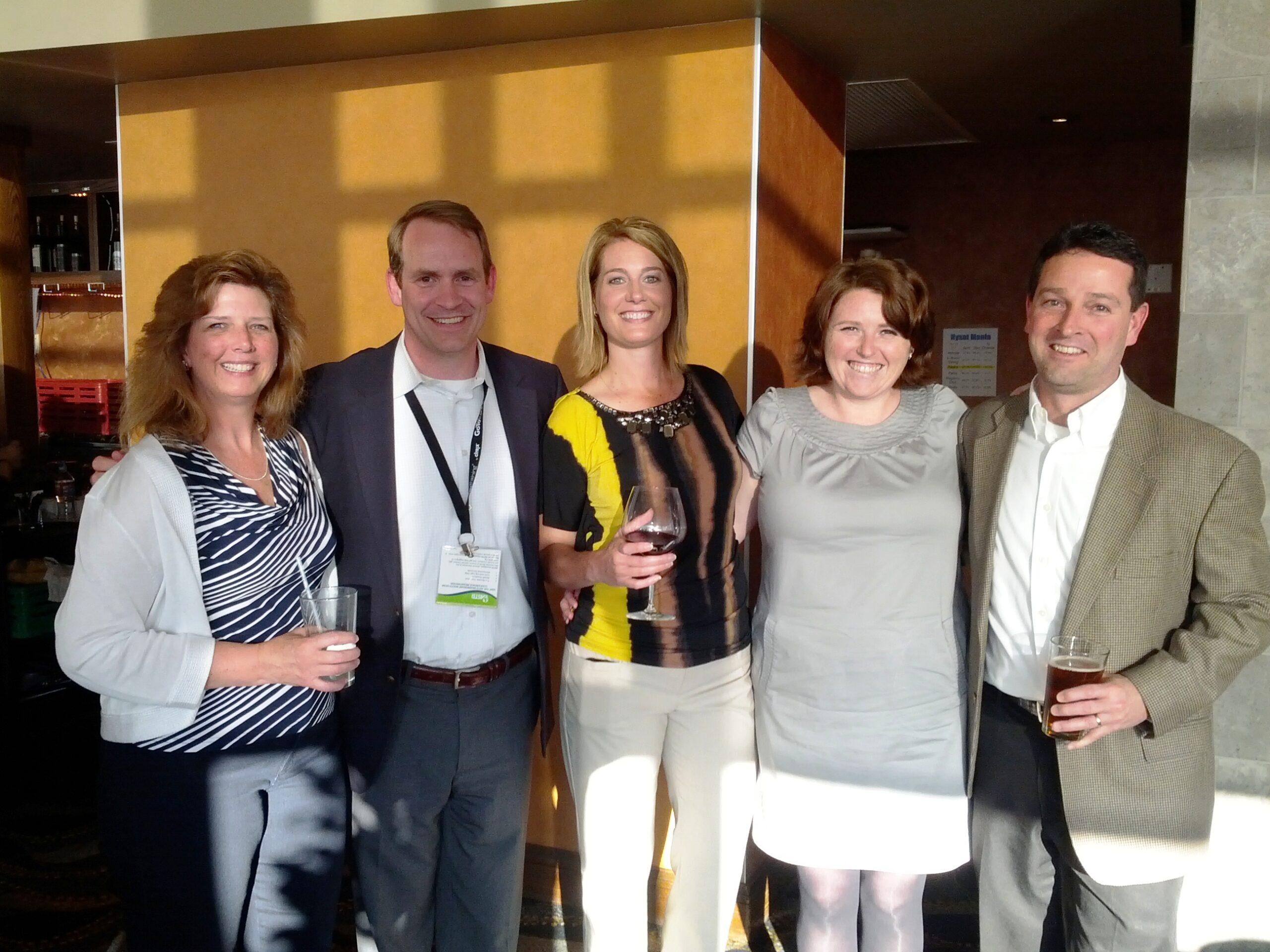 Group shot of Intrepid Learning team members