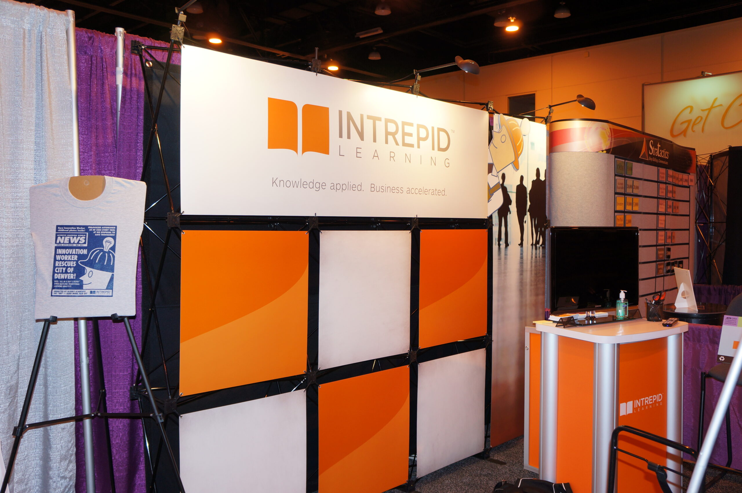 Intrepid Learning Booth at ATD Conference